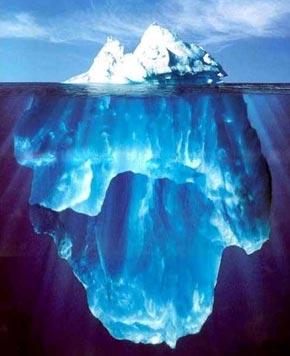 Das eisberg-modell der konfliktdynamik